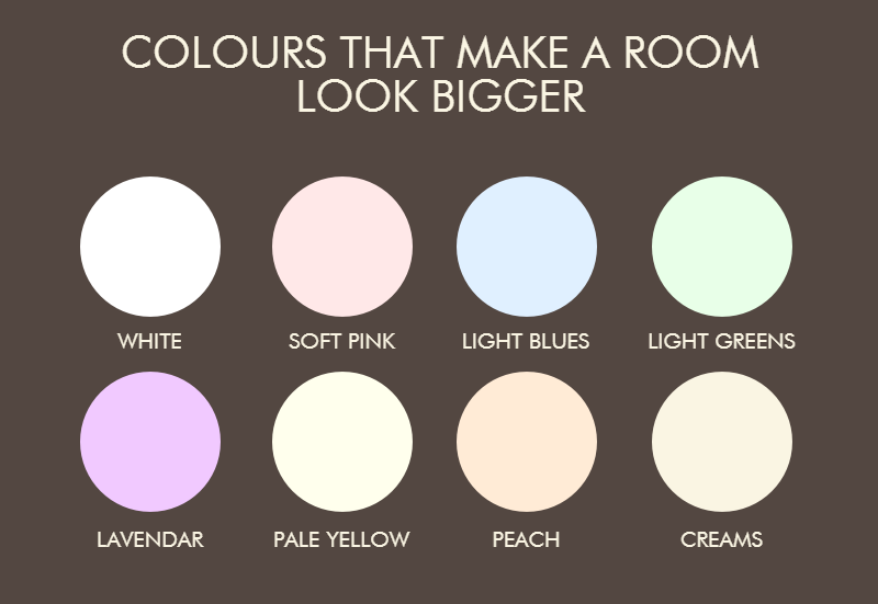Paint Colors To Make Space Bigger