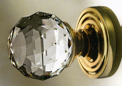 Swarovski Crystal Mortice Knob (60mm) & Swarovski door knob swarovski mortice knob crystal door knobs ...