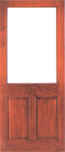 2XG External Hardwood Door (unglazed) : 2xg doors - pezcame.com