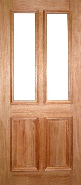 Delicieux Derby External Hardwood Door (unglazed)