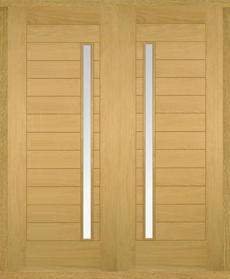 Oslo oak double front doors oak double front doors oak for External double doors