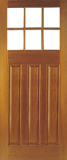 Oak Doors Pattern 664 Hardwood Door Pattern 664 External