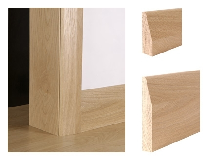 Chamfer architrave chamfer achitraves oak architraves for Door architrave