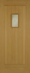 Hillingdon Thermal Rated External Oak Door (Part L)