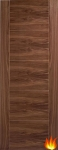 Iseo Internal Walnut Fire Door (pre-finished)