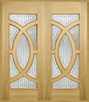 Majestic External Oak Doors (pair)