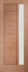 Modena External Hardwood Door (obscure glass)