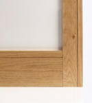 Shaker Oak Architrave Set 80mm (pre-finished)