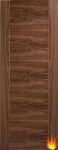 Vancouver Internal Walnut Fire Door (pre-finished)