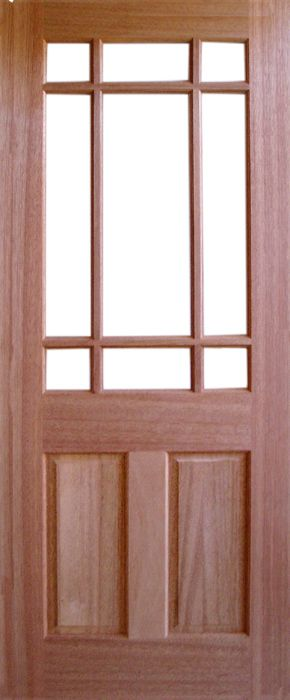 Warwick External Hardwood Door (unglazed) & Oak doors warwick hardwood door warwick external hardwood door ... pezcame.com